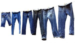 Как вывести пятно с джинсов
